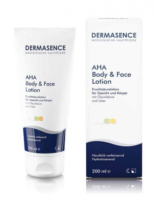 Dermasence AHA Body & Face Lotion